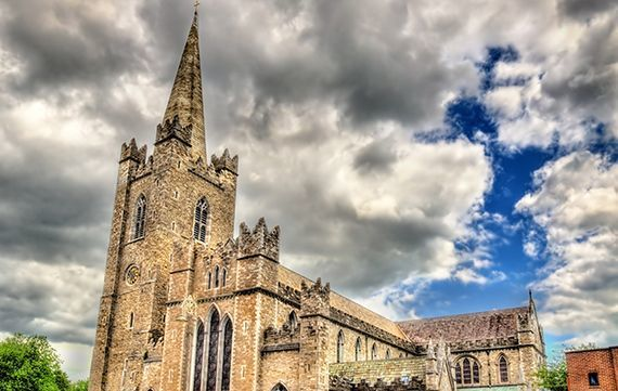 Chancing your arm was born in Saint Patrick\'s Cathedral in Dublin.