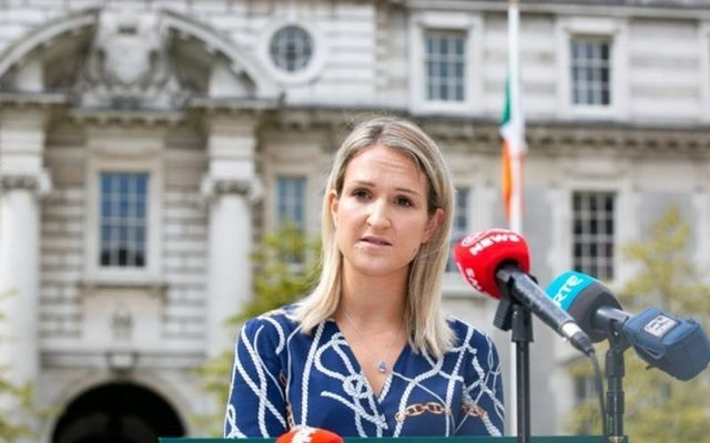 Minister for Justice Helen McEntee made recommendations for a series of laws that would outlaw hate speech on Thursday.