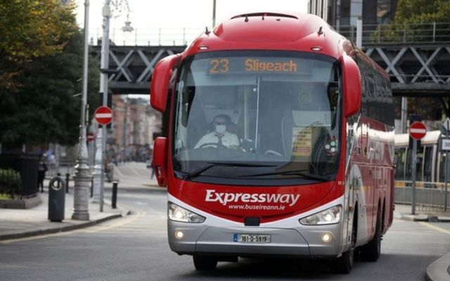 The man refused to wear a face-covering on a Bus Eireann coach.