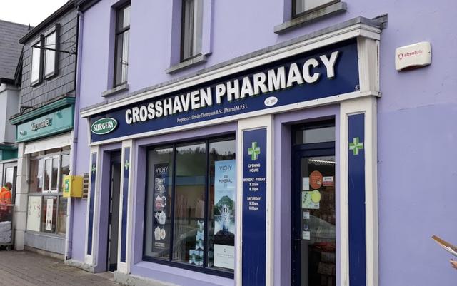 Crosshaven Pharmacy, Cork.