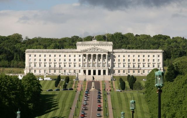 The Parliament Building in Stormont, Northern Ireland.