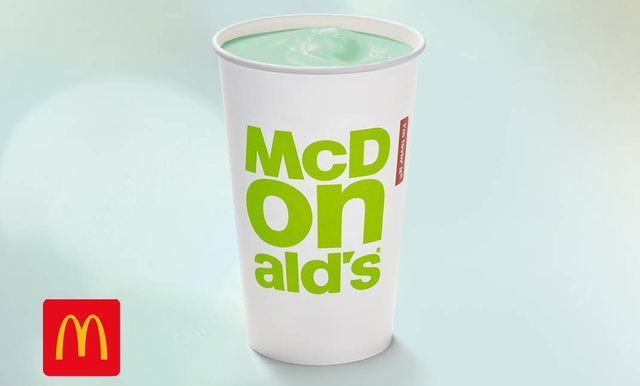 McDonald\'s Ireland launched the Shamrock Shake in January this year!