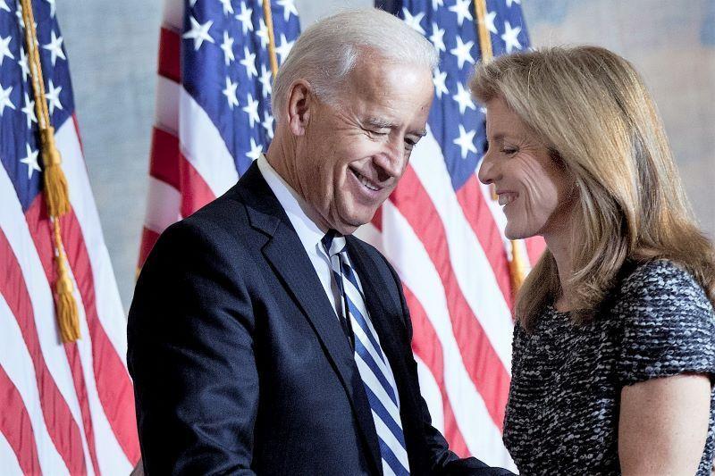 Caroline Kennedy Endorses Joe Biden For Us President