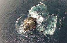 Thumb mi aerial shot of rockall island getty
