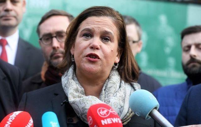 Mary Lou McDonald, president of Sinn Féin