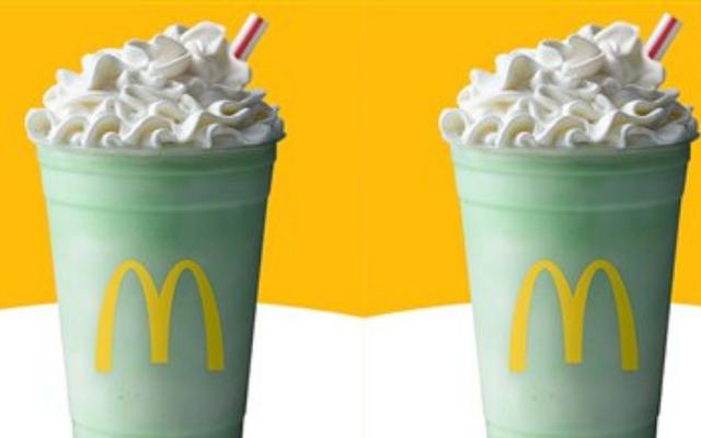 McDonald\'s Shamrock Shake celebrates 50 years!