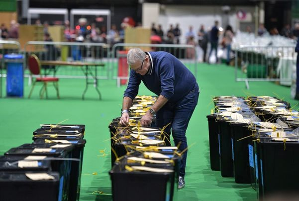 Counting is underway at the RDS.
