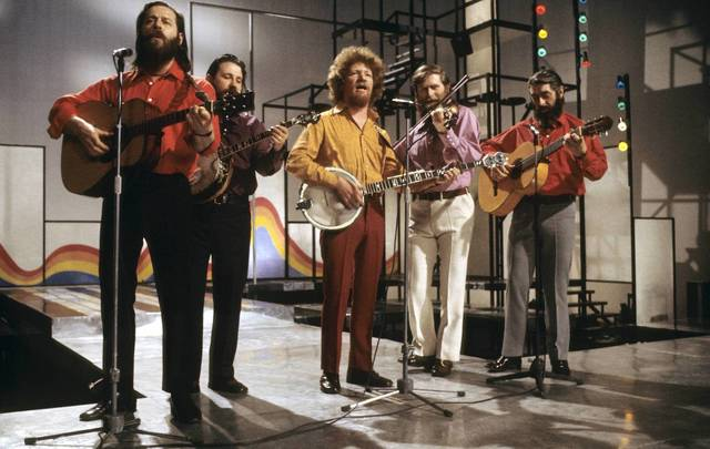 The Dubliners, known for their famous version of Spancil Hill.