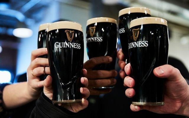 Guinness and chocolate pudding, oysters or beef! So many options.
