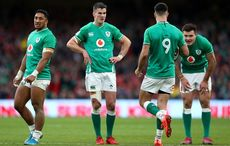Thumb bundee aki  l   jonathan sexton  2l   conor murray  2r  and jacob stockdale  r  of ireland rugby dublin getty
