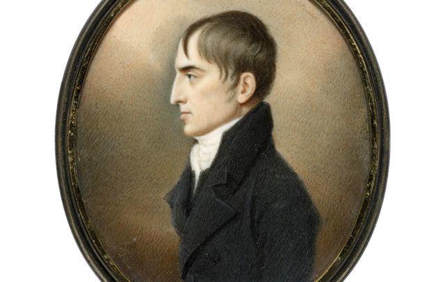 Robert Emmet, Irish rebel leader executed for organizing the 1803 rebellion. \n