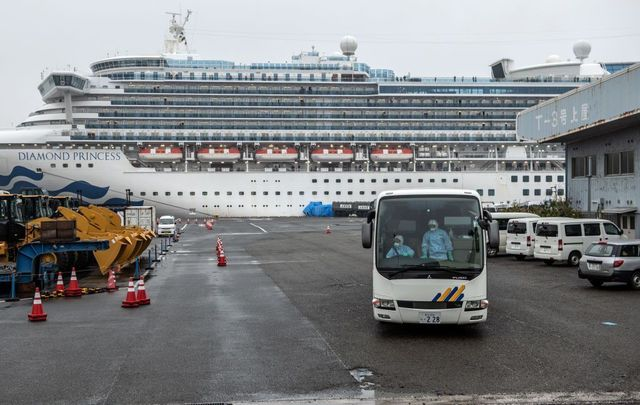 US citizens are evacuated from the Diamond Princess.
