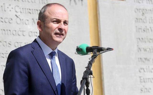 Fianna Fail leader Michael Martin.
