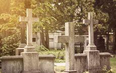 Thumb graveyard   istock