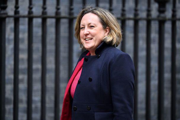 British Minister for International Development, Anne-Marie Trevelyan.