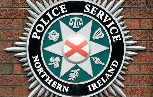 """The PSNI responded after a \""""crude explosive device\"""" was found at Martin Finucane\'s West Belfast home on February 20."""