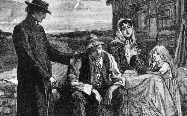 Take the soup? The Irish Famine term and where it came from.