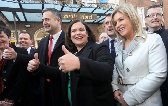 Mary Lou McDonald, who received the most votes to become Taoiseach, heads to Leinster House for the first sitting of the 33rd Dáil Éireann.