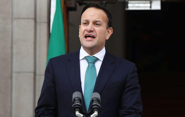 Varadkar has served as Taoiseach for three years.