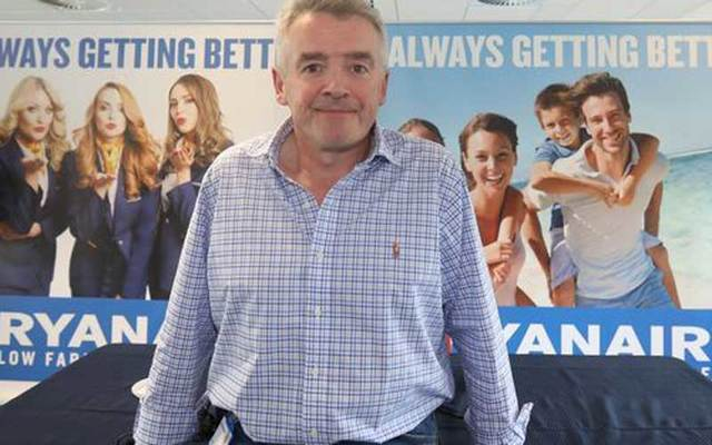 Ryanair boss Michael O\'Leary made the controversial comments to the Times of London.