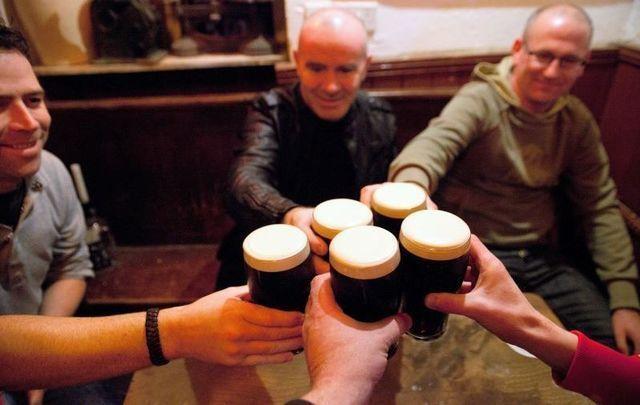 Irish drink 300,000 pints every day.