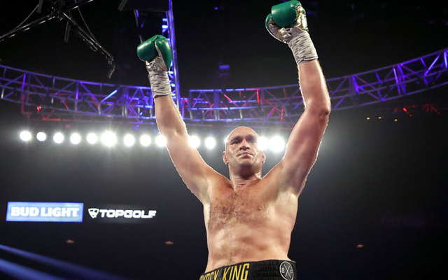 Fury stopped Deontay Wilder to become the WBC Heavyweight champion of the world.
