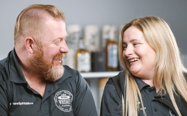 Anthony and Kate Sheehy set up Irish Whiskey Auctions in 2018