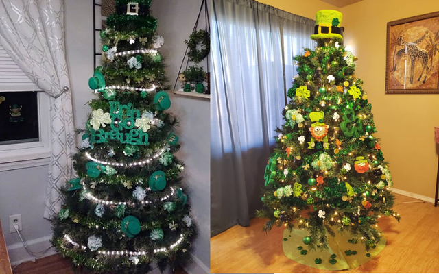 St. Patrick\'s Day trees are one of the newest trends emerging in decor ahead of March 17.