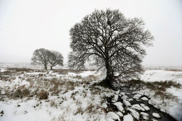 A snow and ice warning has been issued for Ireland as parts of the country struggle with flooding.