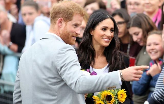 Harry and Meghan in Ireland in 2018.