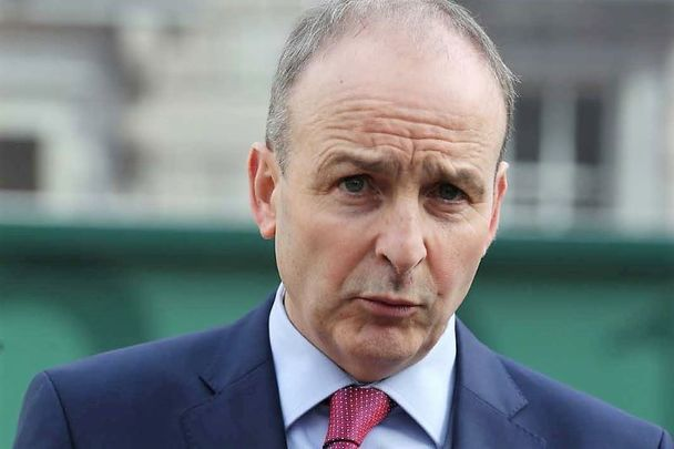 Fine Fail leader Micheal Martin.
