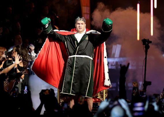 Boxing champ Tyson Fury.