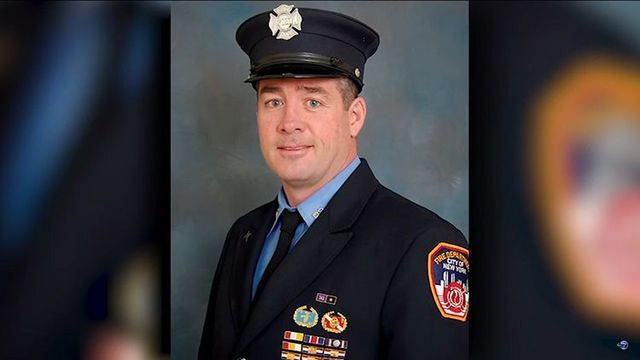 New York City firefighter Dan Foley.