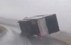 Truck overturned as Storm Jorge lashes Ireland