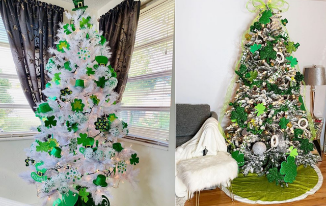 St. Patrick\'s Day trees are a growing phenomenon.