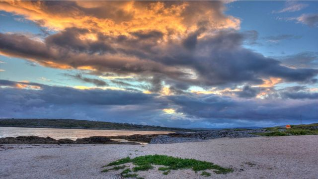 The Coral Strand, in Carraroe, County Galway.