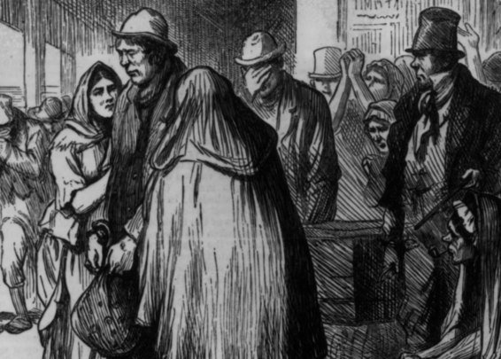 The sad reality of indentured Irish servants laid bare in the newspapers.