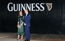 William and Kate conclude first day of official Irish visit