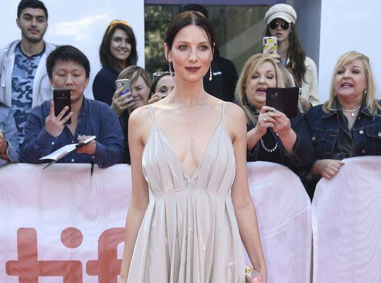 Outlander star Caitriona Balfe at TIFF 2019.