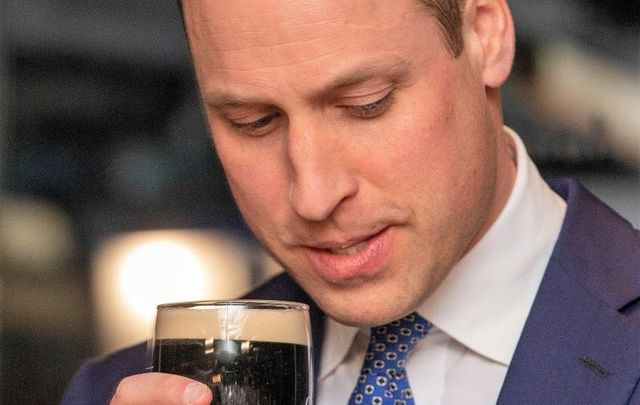 Prince William made comments about coronavirus during a reception at Dublin\'s Guinness Storehouse.