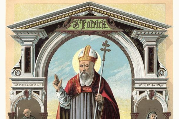 Saint Patrick died in the 5th Century AD