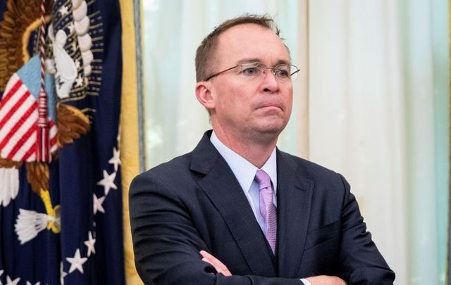 Mick Mulvaney is out as President Trump\'s Chief of Staff