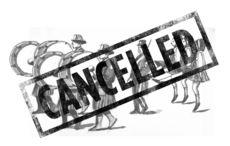 A sad St. Patrick's Day - canceled