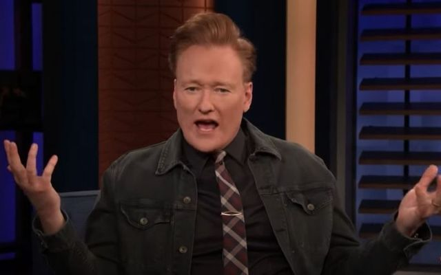 "Conan O\'Brien said, ""What better face to put on the Guinness brand than this fat Irish head right here?\"""