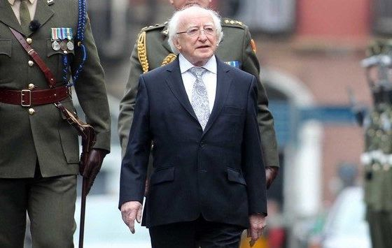 Michael D. Higgins delivered the message ahead of St. Patrick\'s Day.