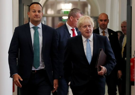 Boris Johnson and Leo Varadkar have taken different approaches to Covid-19.