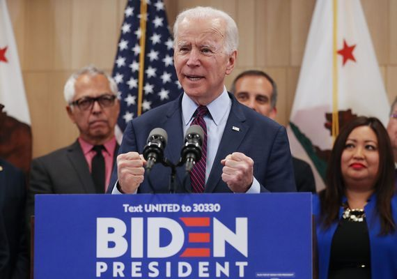 Biden has built a coalition of Irish-American voters.