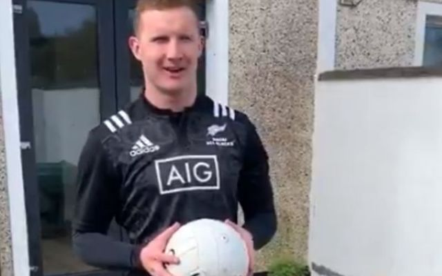 GAA players are setting daily challenges for kids.