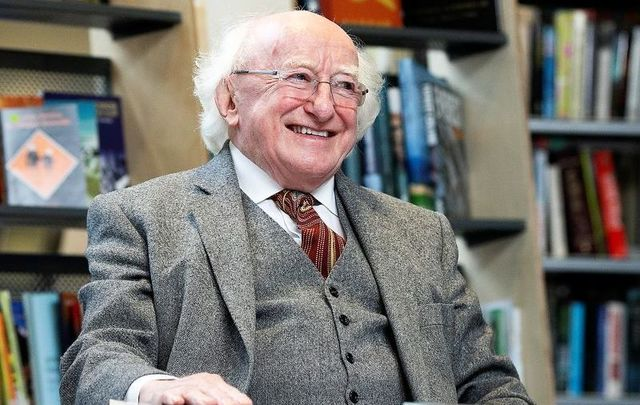 President Michael D. Higgins is encouraging people in Ireland to go above and beyond during the coronavirus fight.