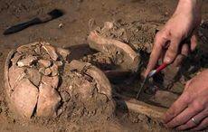 Thumb mi bones archaeology dig getty